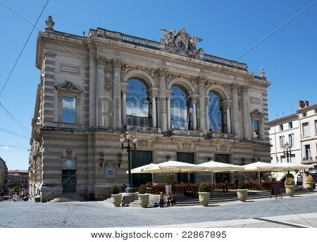Montpellier, France - The Opéra Comédie