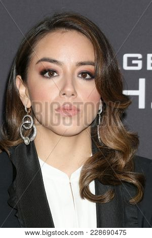 LOS ANGELES - FEB 24:  Chloe Bennet at