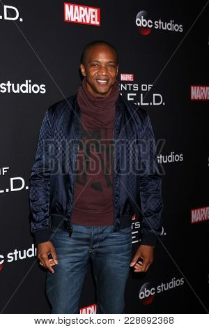 LOS ANGELES - FEB 24:  J August Richards at