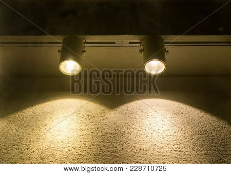 spotlight Black and Lighting Equipment
