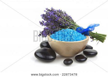 Lavender Salt And Stones
