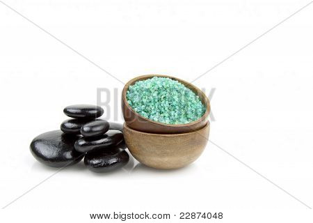 Spa Salt With Stones