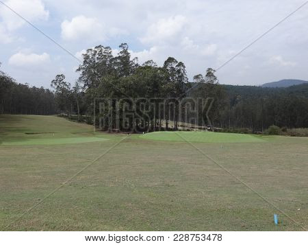 Awesome View Of Shooting Field Looking Good. This Is Very Beautiful Photo From Ooty  For Shooting In