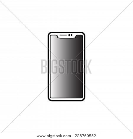 Mobile Phone Vector Icon.telephone Icon Eps10. Cell Phone Vector Icon Isolated On White Background .