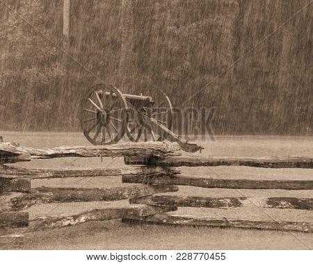 A Civil War Battle Field Relic Near New Bern Nc