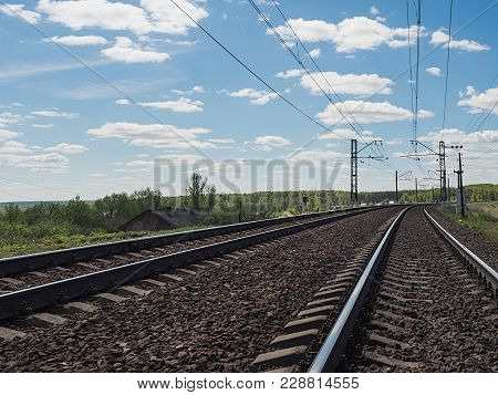 Two Ways Of Electrified Railway In Russia