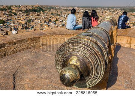 Jaisalmer Fort Canon
