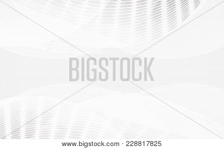 White Abstract Background Vector. Gray Abstract. Modern Design Background For Report And Project Pre
