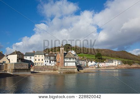 Kingsand Village Cornwall England Situated Next To Cawsand On The Rame Peninsula Overlooking Plymout