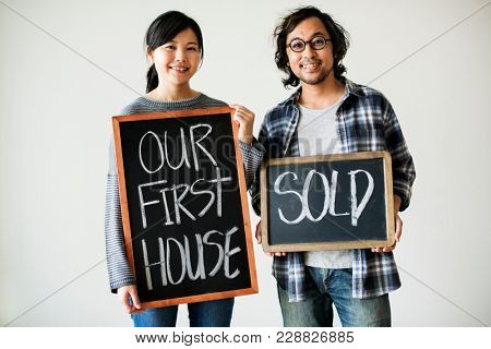 Asian couple sold first house