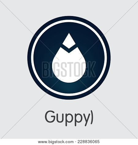 Guppy - Symbol Of Fintech Industry, Finance Digitization. Modern Symbol. Premium Quality Sign Icon O