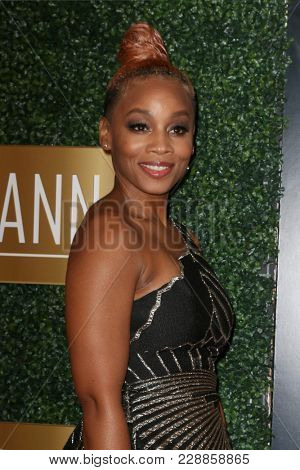 LOS ANGELES - FEB 27:  Anika Noni Rose at the 6th Annual ICON MANN Pre-Oscar Dinner at Beverly Wilshire Hotel on February 27, 2018 in Beverly Hills, CA