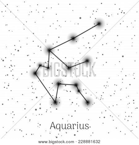 Sign Zodiac Aquarius Vector Photo Free Trial Bigstock
