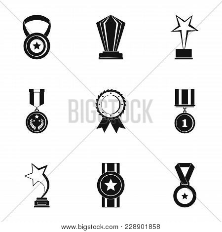 Reception Icons Set. Simple Set Of 9 Reception Vector Icons For Web Isolated On White Background