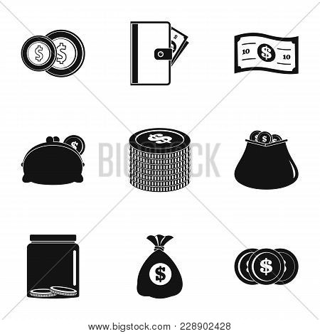 Issue Icons Set. Simple Set Of 9 Issue Vector Icons For Web Isolated On White Background