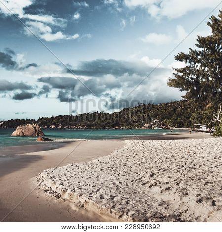 The famous Anse Lazio beach, Praslin, Seychelles