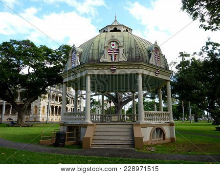 Keli'iponi Hali - The Coronation Pavilion