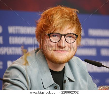 Ed Sheeran attends the 'Songwriter' press conference during the 68th Film Festival Berlin at Grand Hyatt Hotel on February 23, 2018 in Berlin, Germany.