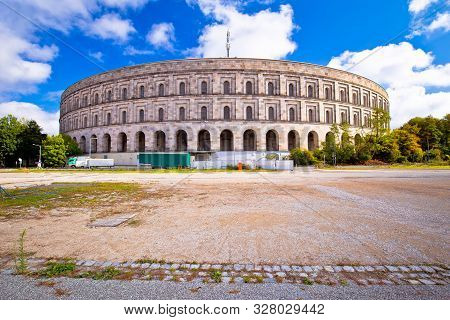 Reich Kongresshalle (congress Hall) And The Documentation Center On Former Nazi Party Rally Grounds