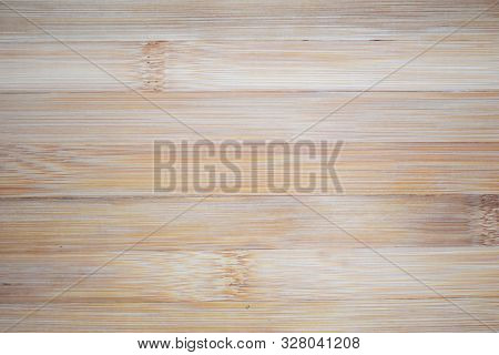 Monotonic Wooden Floor Texture. Wooden Panel Light Background
