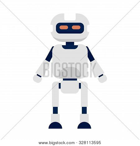 Humanoid Icon. Flat Illustration Of Humanoid Vector Icon For Web Design