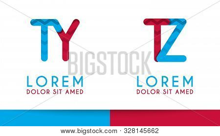 T Alphabet Logo Concept For Company Or Corporations Industry, Print Various Online And Offline, Prom