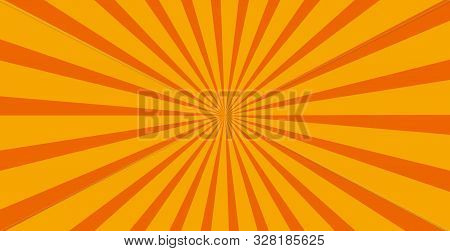 Yellow Spiral Background. Spiral Color Yellow For Background. Yellow Vector Background. Yellow Spira