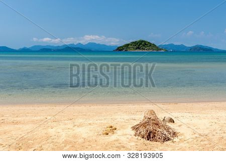Tropical Paradise Beach At Koh Mak, Island. Thailand.