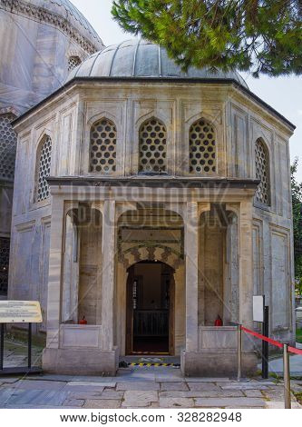 The Exterior Of The Late 16th Century Tomb Of Princes In The Tomb Of The Sultans Courtyard At The Si