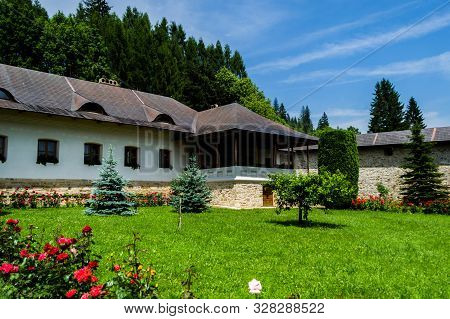The Putna Monastery Is A Orthodox Monastery, One Of The Most Important Cultural, Religious And Artis