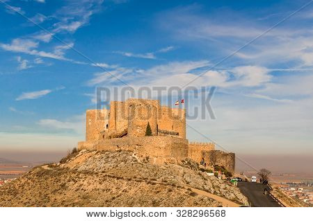 Castle Of Consuegra Dated In The 10th Century By The Caliphate Of Cordoba On Cerro Calderico In Cons