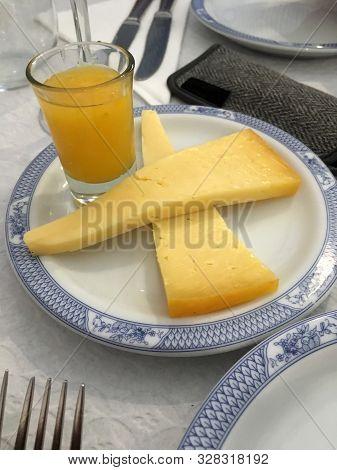 Sao Jorge Cheese From Island Of Sao Jorge, Azores, Portugal
