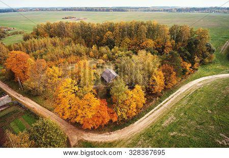 Scenic Autumn Park