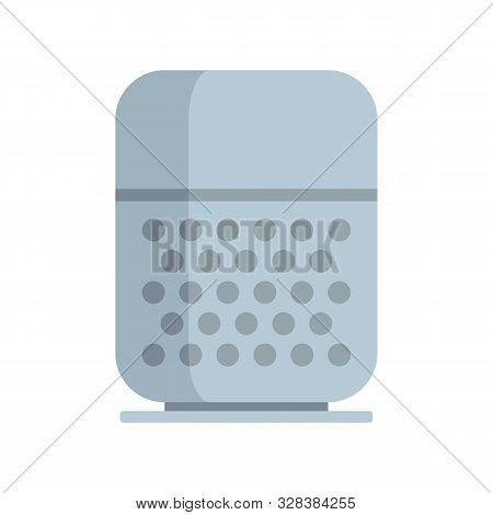 Command Smart Speaker Icon. Flat Illustration Of Command Smart Speaker Vector Icon For Web Design