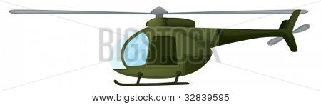 Illustration of an isolated chopper