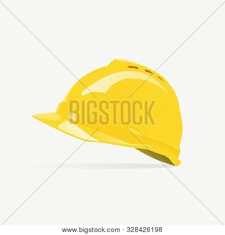 Safety Helmet Construction Logo. 3d Helmet. Safety Helmet. Helmet Logo.