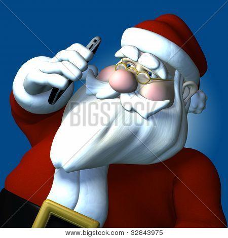 Santa Cell Phone