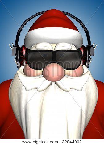 Santa Dj - Headphones