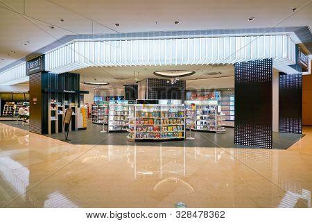 SHENZHEN, CHINA - CIRCA APRIL, 2019: Liberte storefront in MixC Shenzhen Bay shopping mall.