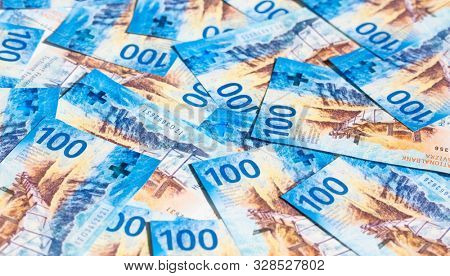 Collection of the swiss banknotes (new release issued in 2017-2019)