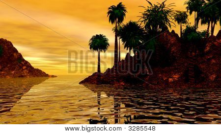 Sunrise Island