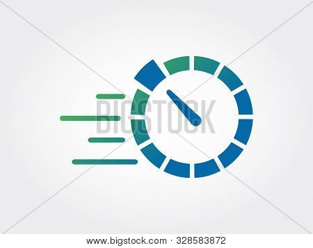 Speed Meter, Racer, Speedy, Auto Services Icon