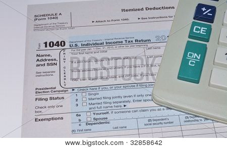 Individual Income Tax Return, Form 1040