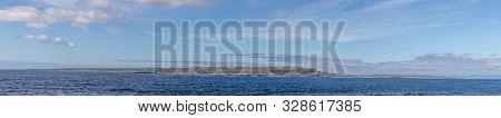 Panorama Of Inishmaan From Inisheer Island