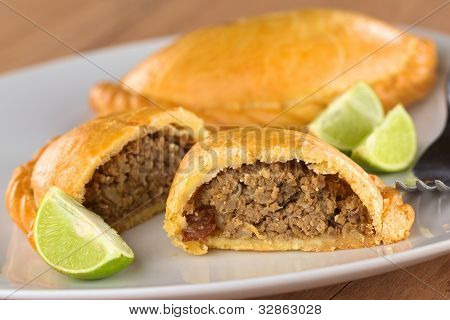 Peruvian Snack called Empanada (Pie)