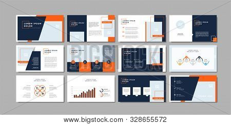 Business Minimal Slides Presentation Background Template. Business Presentation Template.