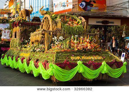 Elephant Roundup Parade Float