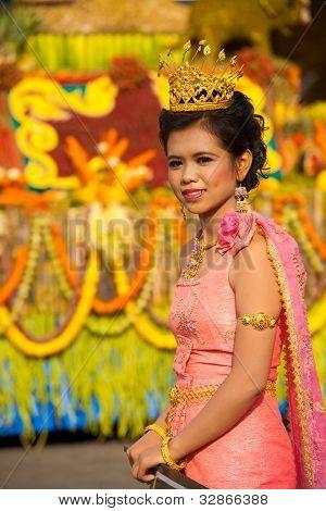 Surin Parade Beauty Queen Tiara Pink