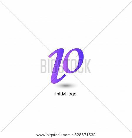 Abstract Logo Template, I O Z Letter, Vector Illustration, Number 10