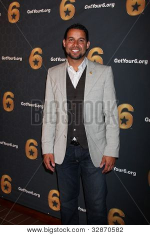 LOS ANGELES - MAY 10:  Jon Huertas arrives at the Launch of Got Your 6  at SAG / AFTRA Headquarters on May 10, 2012 in Los Angeles, CA